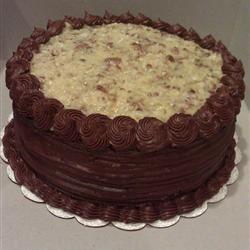 German Chocolate Cake III