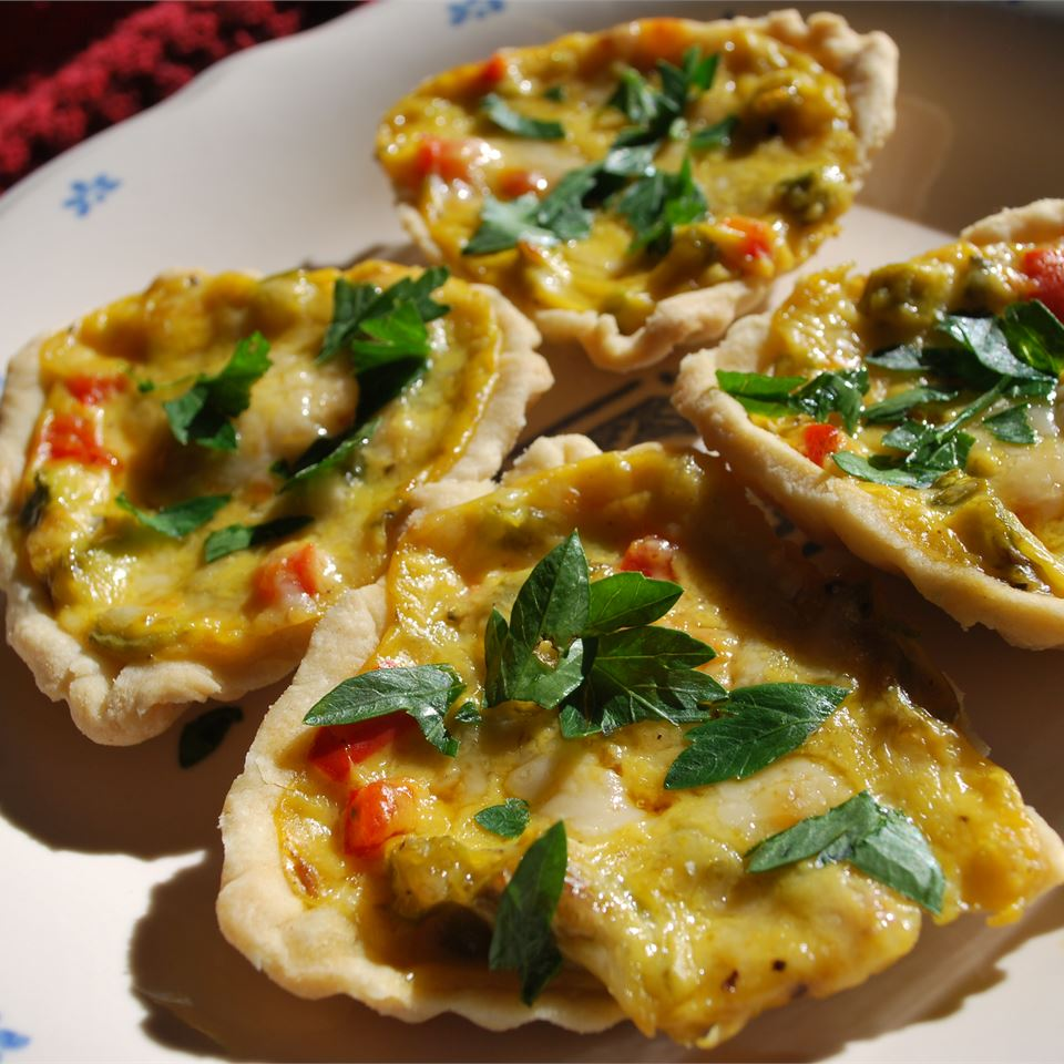 Ashley's Savory Summer Veggie Tarts