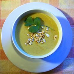 Jennifer's Thai Curried Peanut Soup image