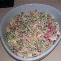 Seafood Pea-Asta Salad michround