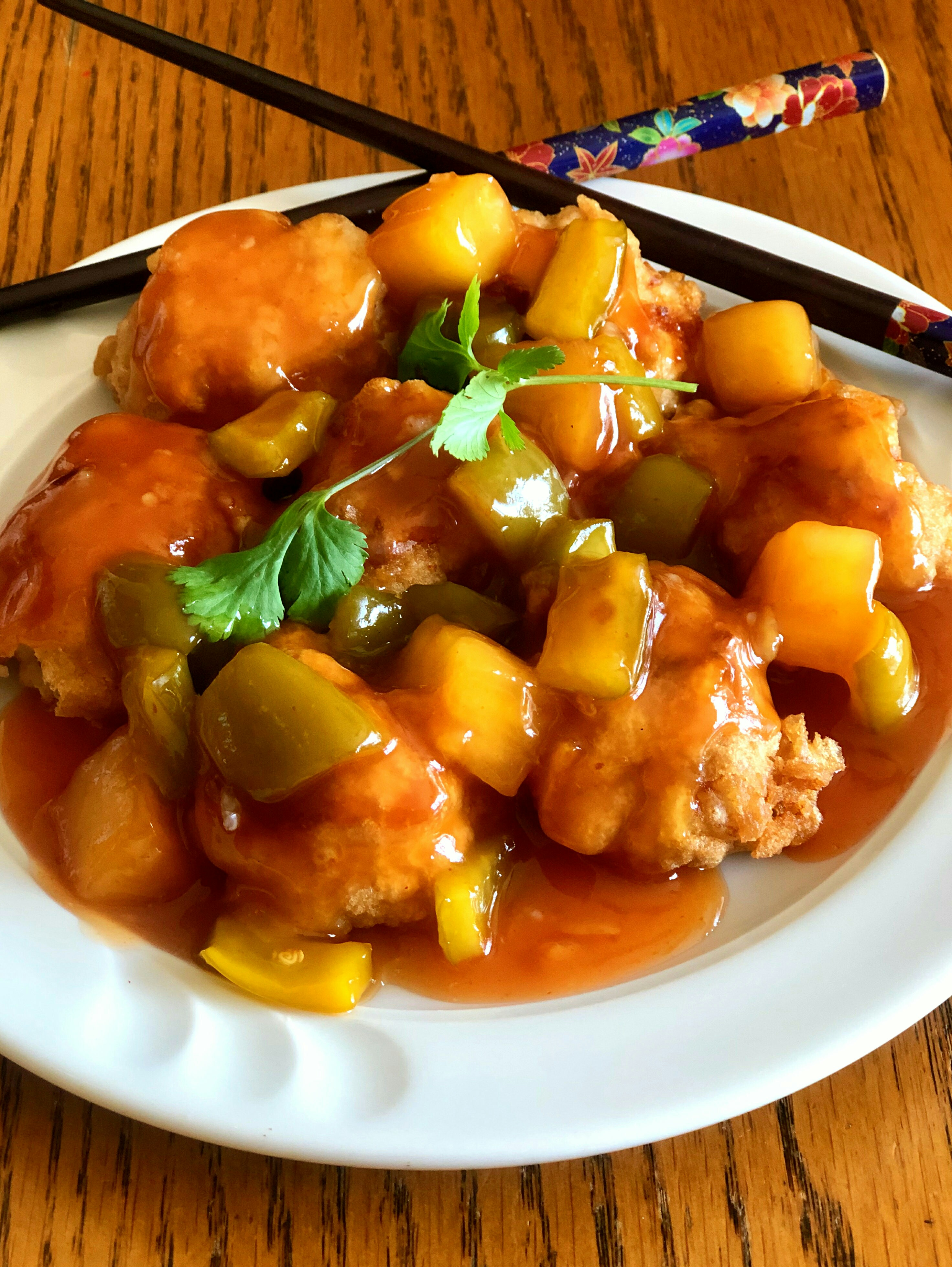 Sweet and Sour Orange Chicken bsims