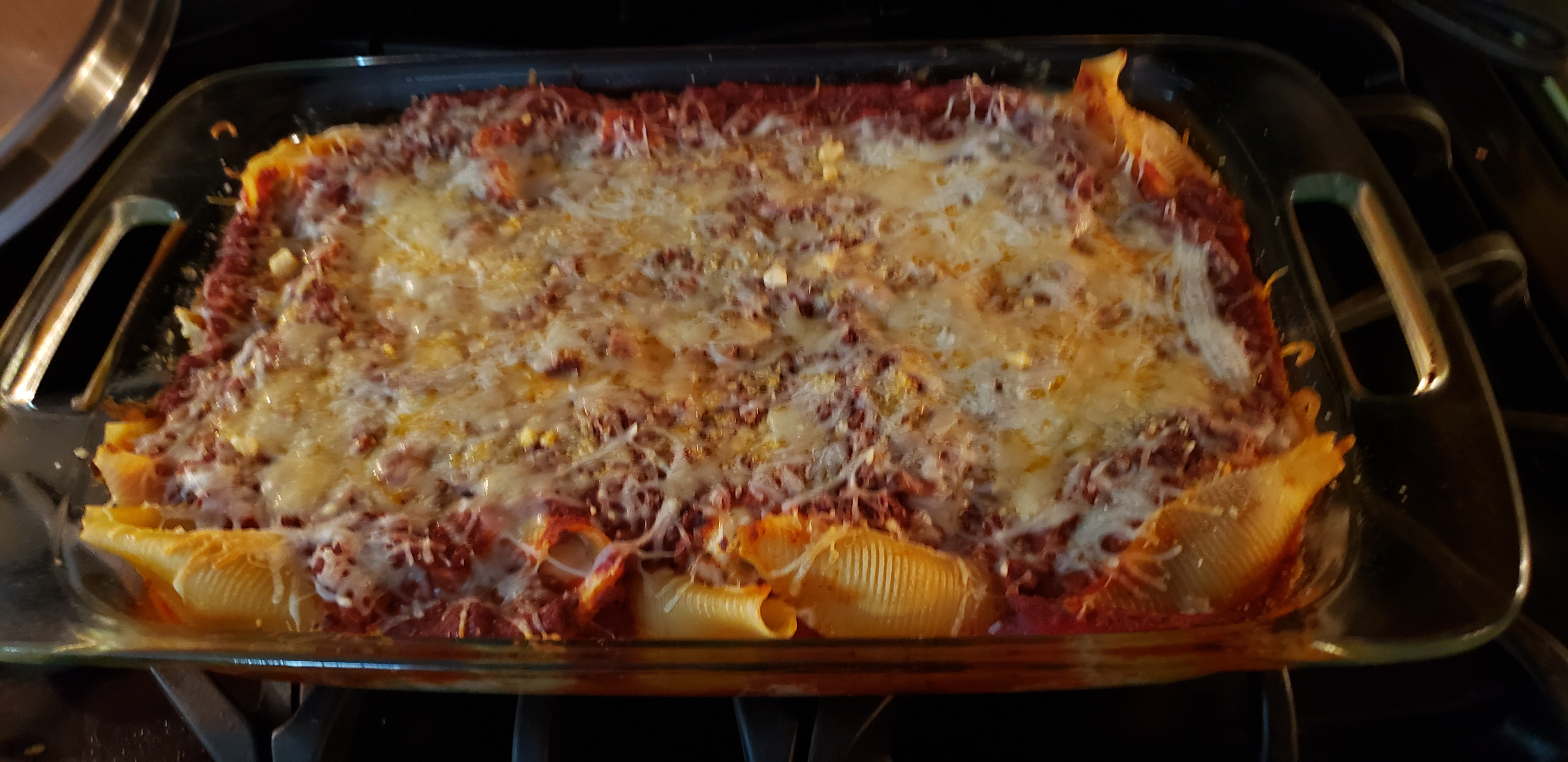 Stuffed Shells with Four Cheeses