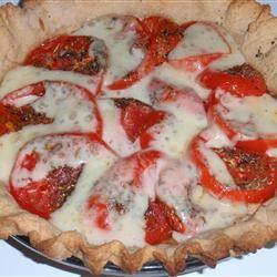 Tarte aux Moutarde (French Tomato and Mustard Pie) sueb