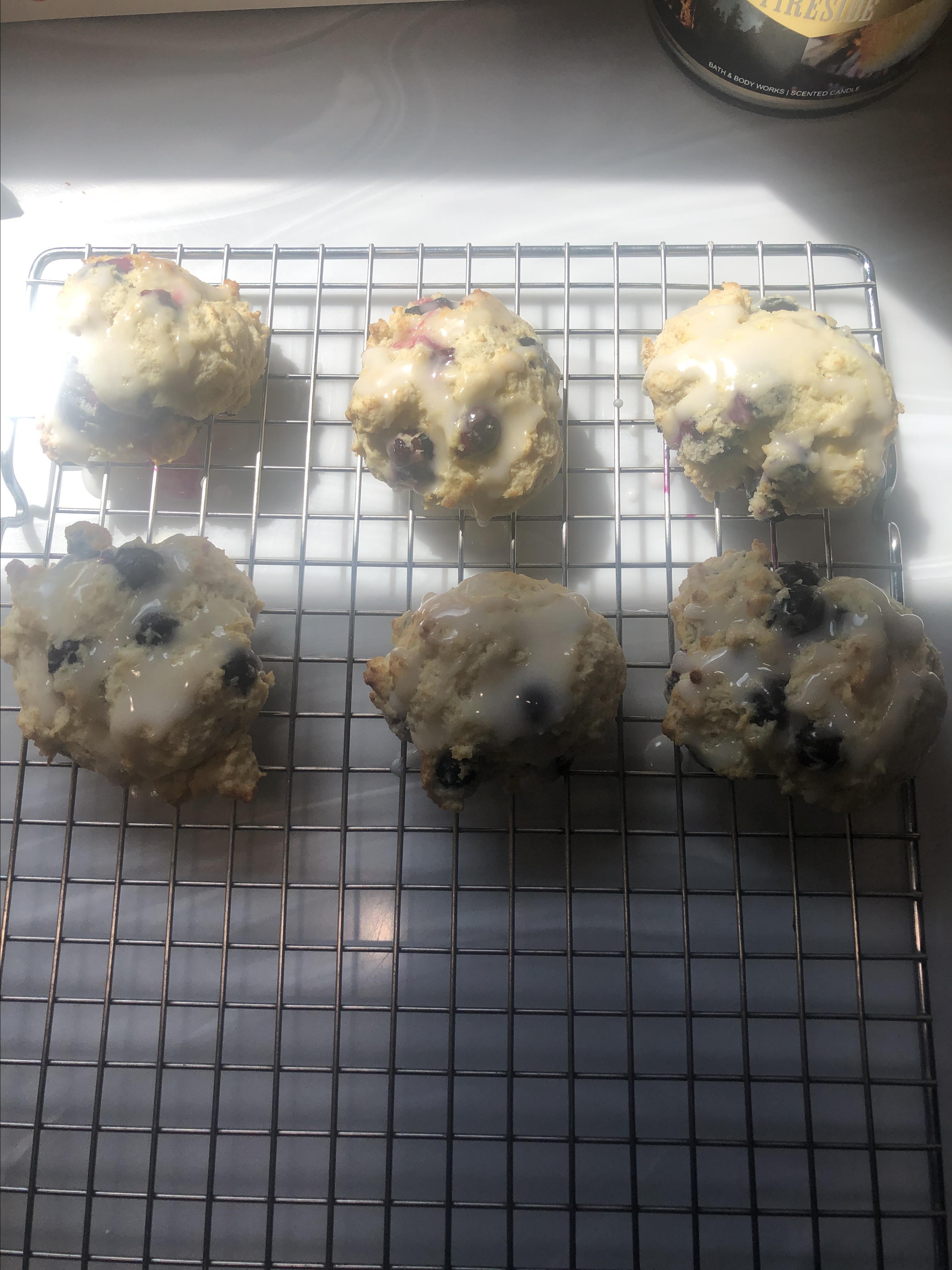 Blueberry Buttermilk Scones Pam Hicks