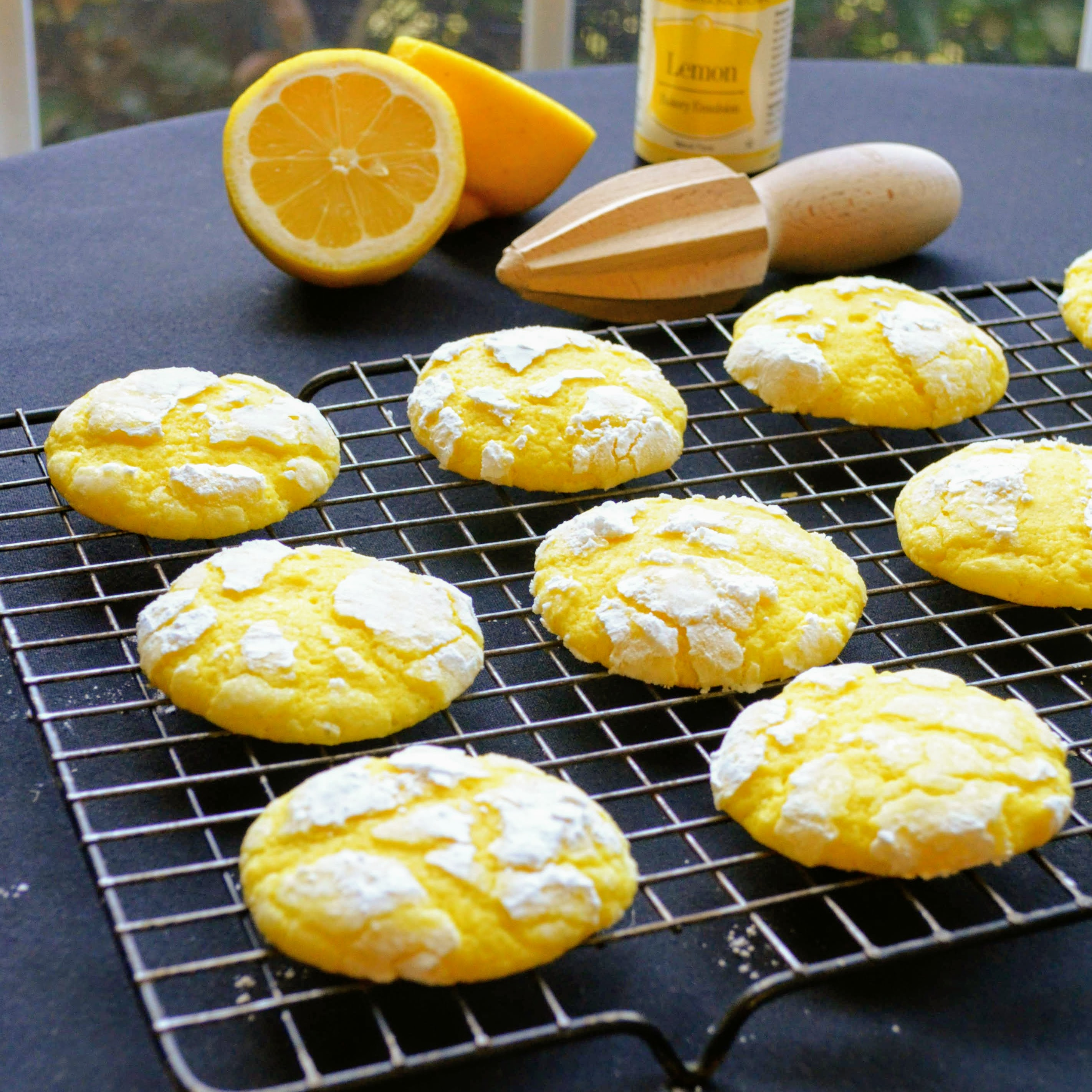 "These made-from-scratch lemon cookies are easy to make and deliver loads of lemony flavor. ""This is a very cakey soft cookie,"" says reviewer bbowling. ""I used 2 TBSP of fresh lemon juice as my lemon was huge and I was concerned the batter would be too thin. That seemed to be the perfect amount."""
