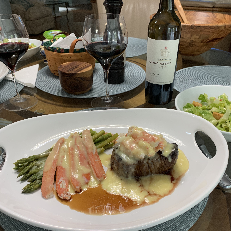 Jessica's Steak Oscar Jonathan Blackmore