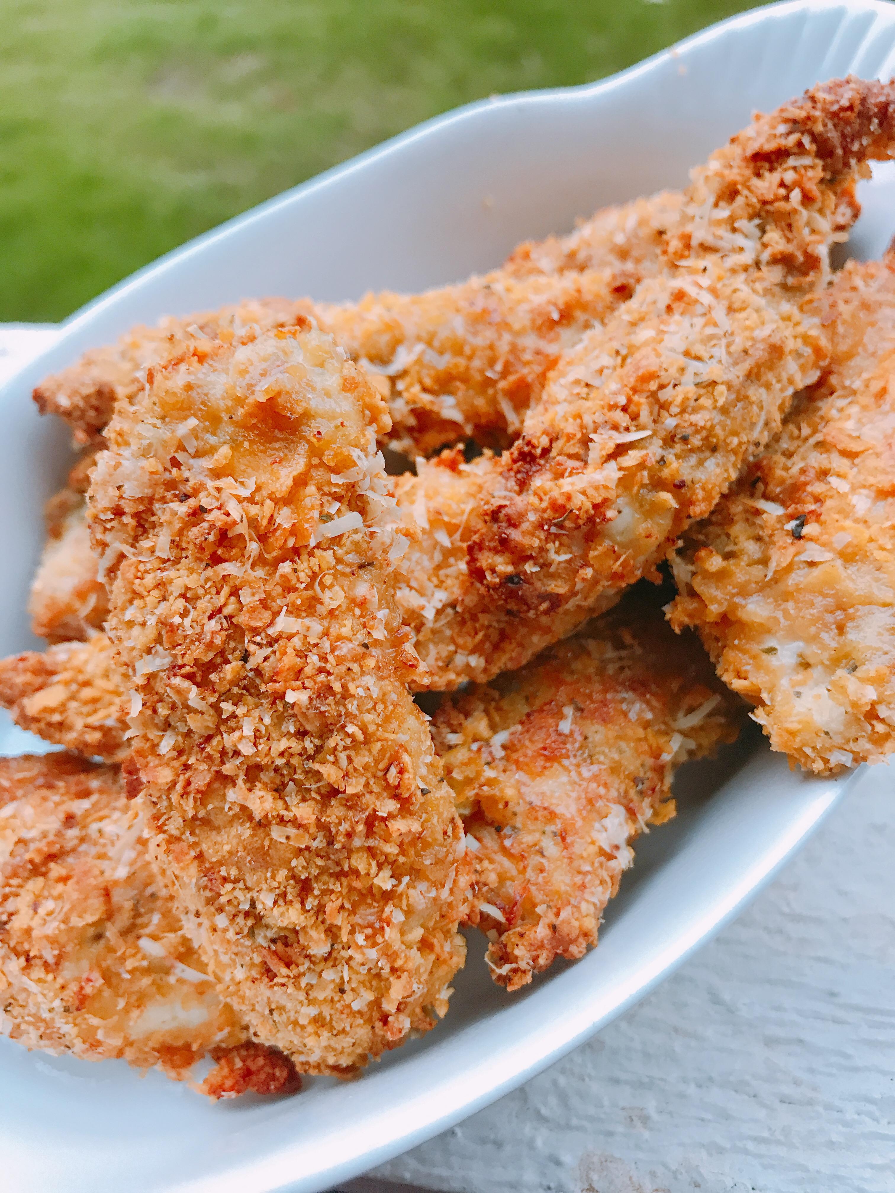 Air Fryer Cornflake-Crusted Chicken Tenders