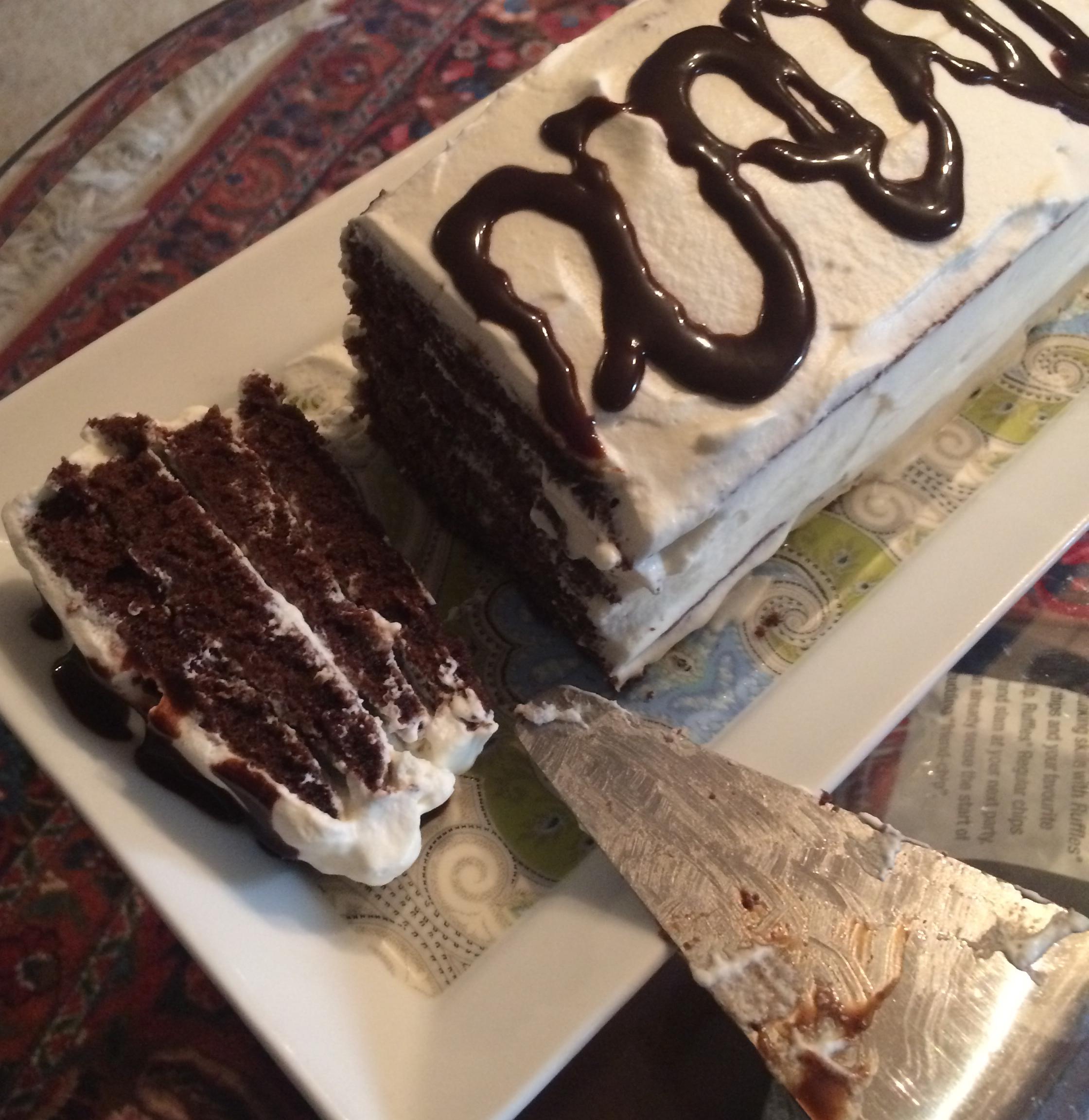 Chocolate Peppermint Cake Roll Azam Bayati