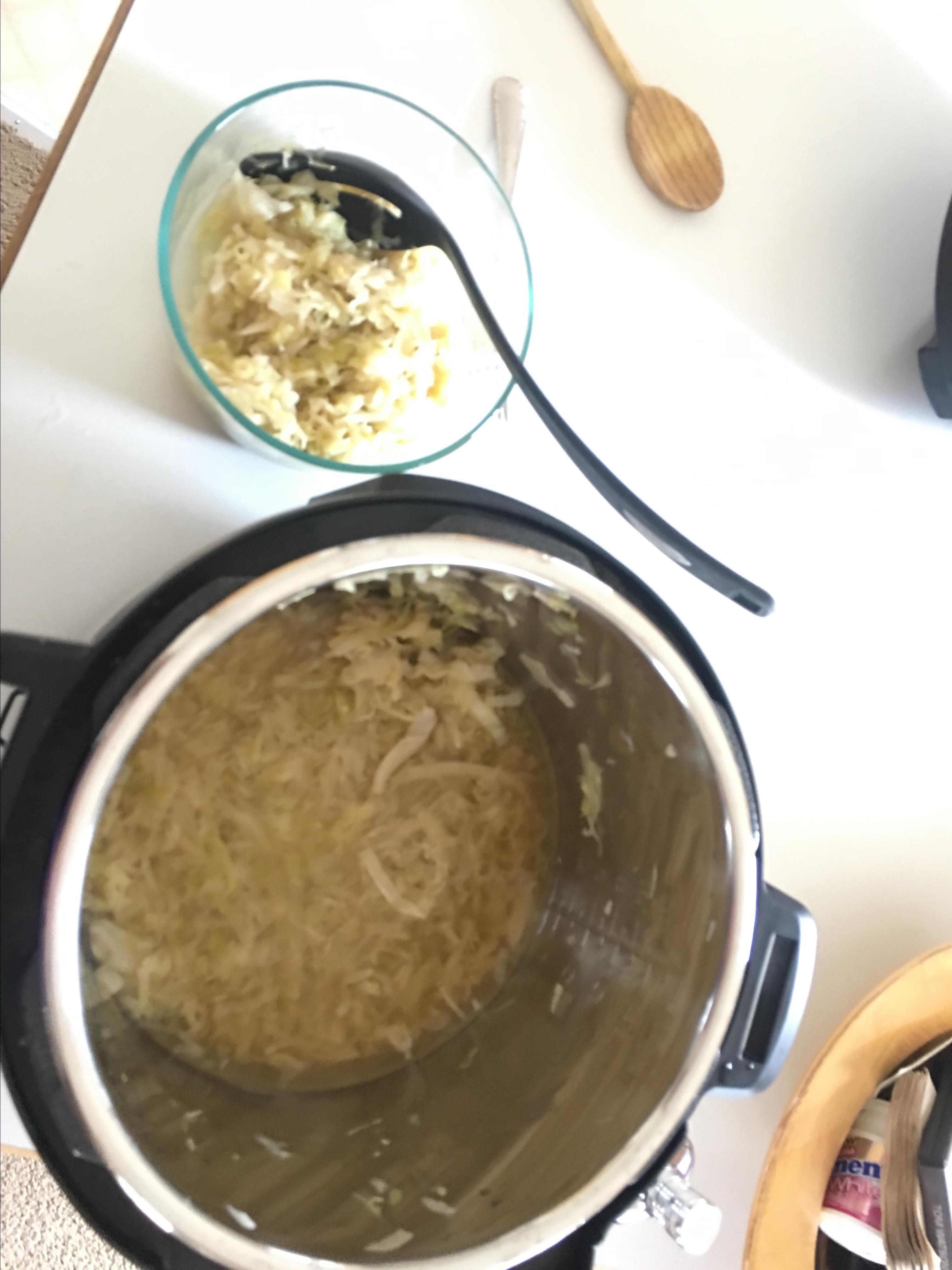 Instant Pot® Sauerkraut