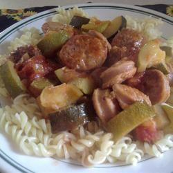 Italian Sausage and Zucchini
