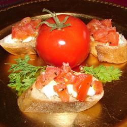 Carrie's Bruschetta Appetizer GodivaGirl