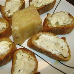 Garlic and Cheese Bruschetta