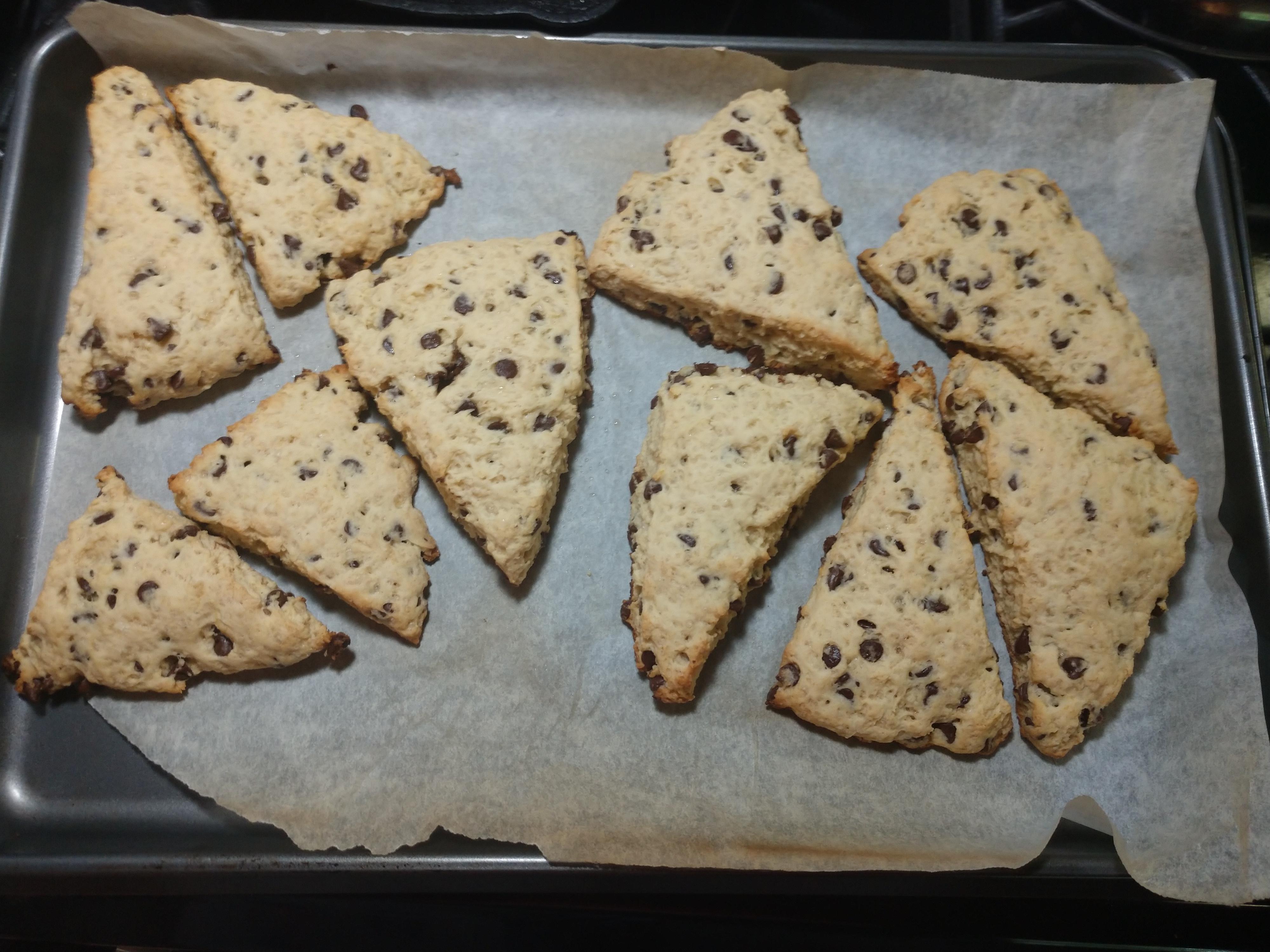 English Royalty Chocolate Chip Scones Ann Petric