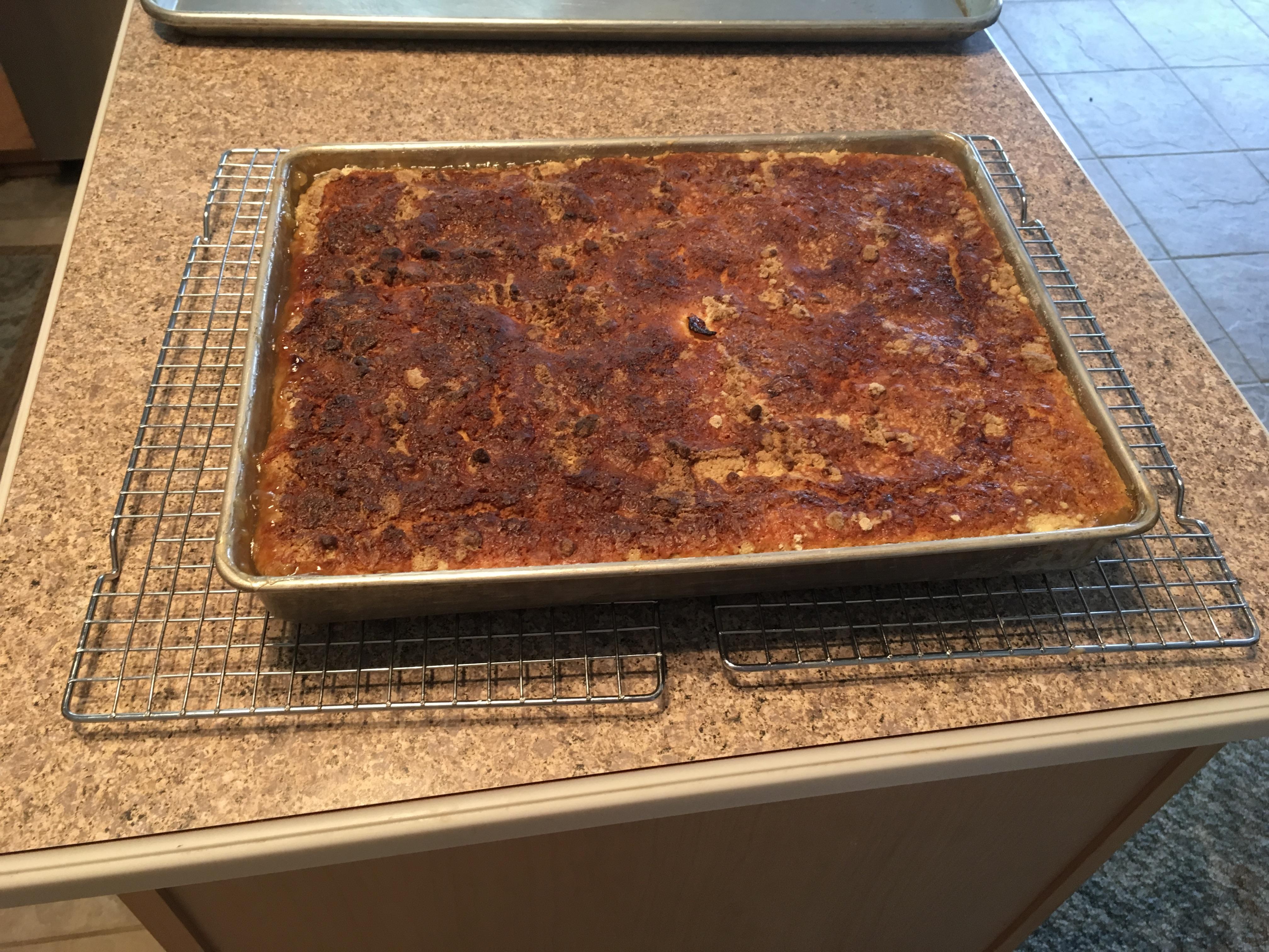 Peach Cobbler Dump Cake II Sharon Lynn Landrem