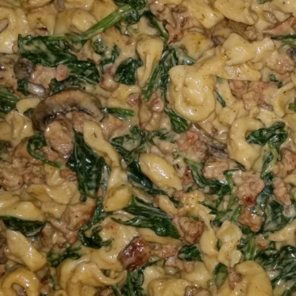 Italian Sausage Tortellini Sheri R Williams