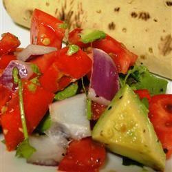Persian-Style Tomato Avocado Salad Stacy McVay