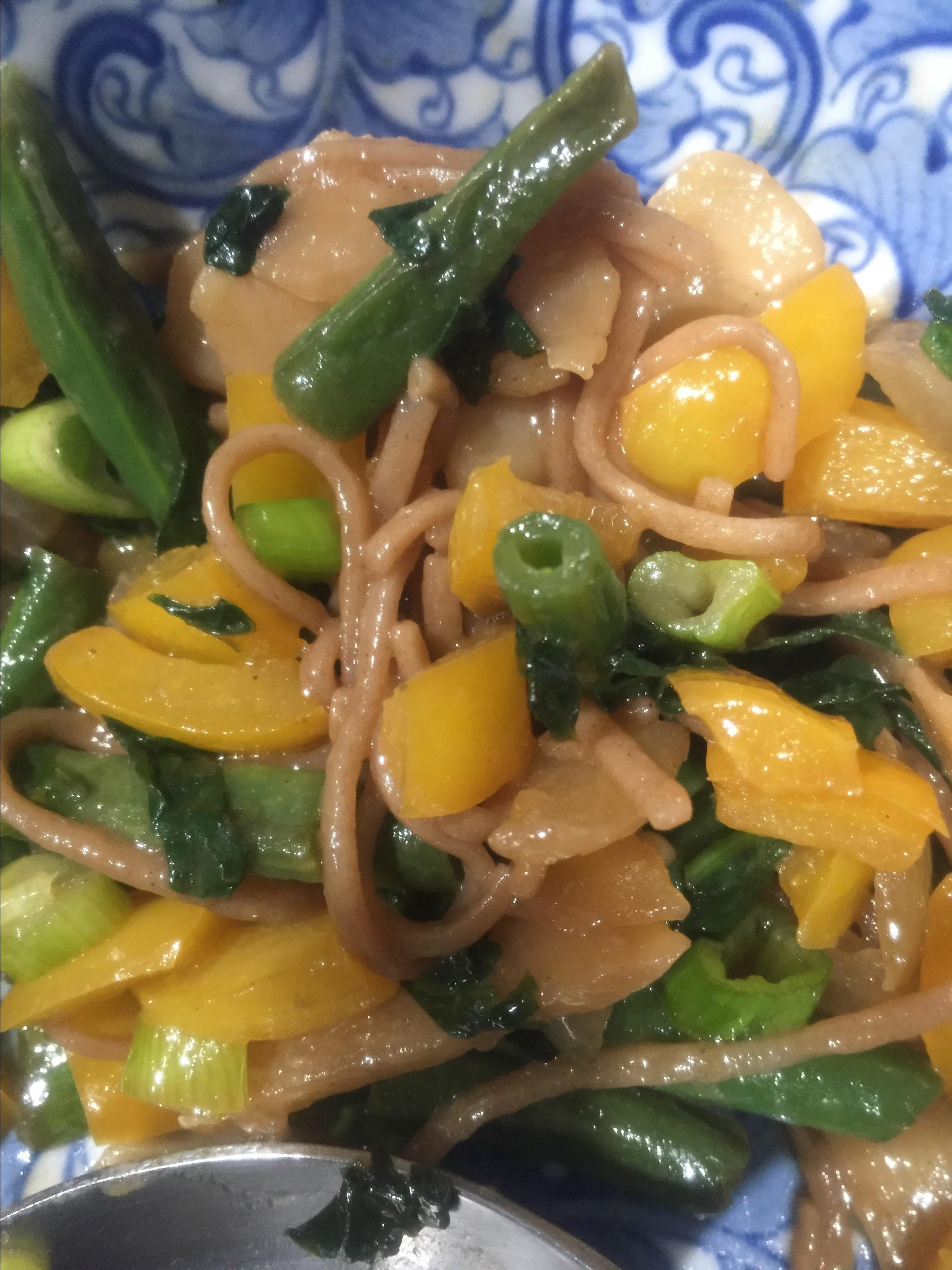 Soba Noodle Veggie Bowl Fluffhead77