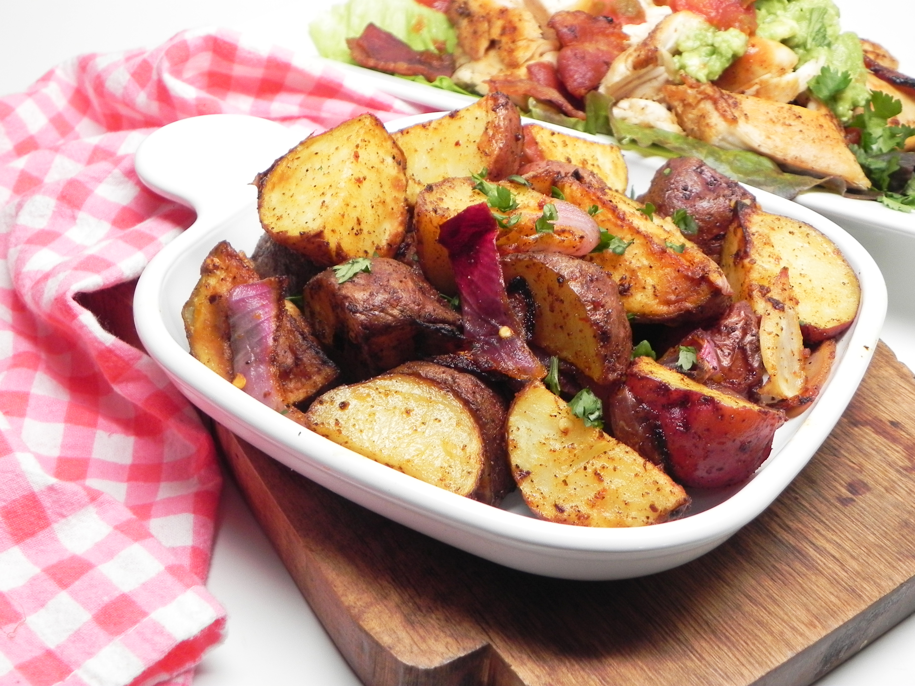Karen's Red Hot Campfire Potatoes Karen K.
