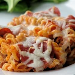 Manicotti Italian Casserole