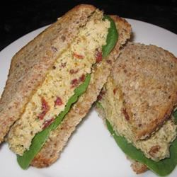 Pesto Tuna Salad with Sun-Dried Tomatoes