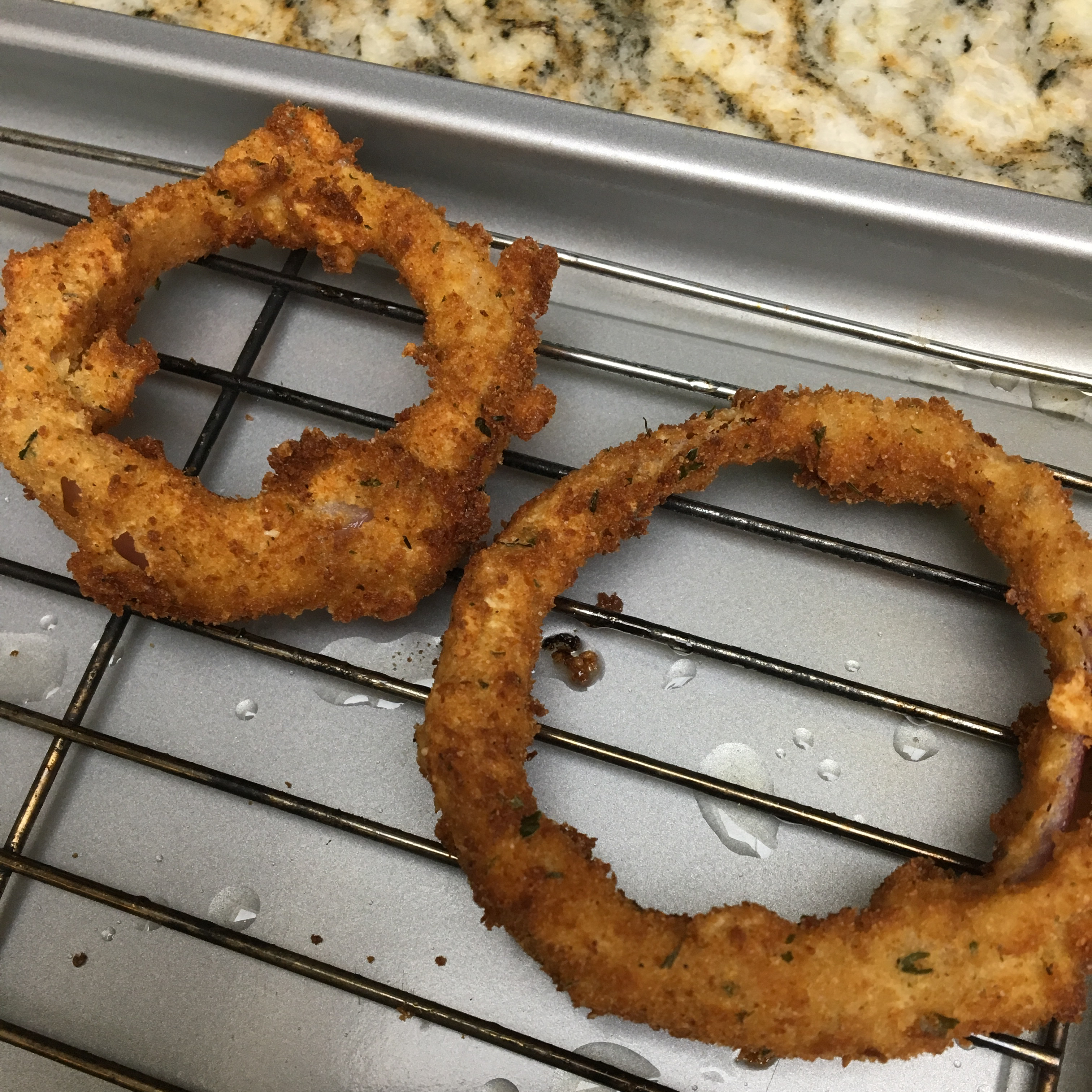Spicy Onion Rings LUNATERRA