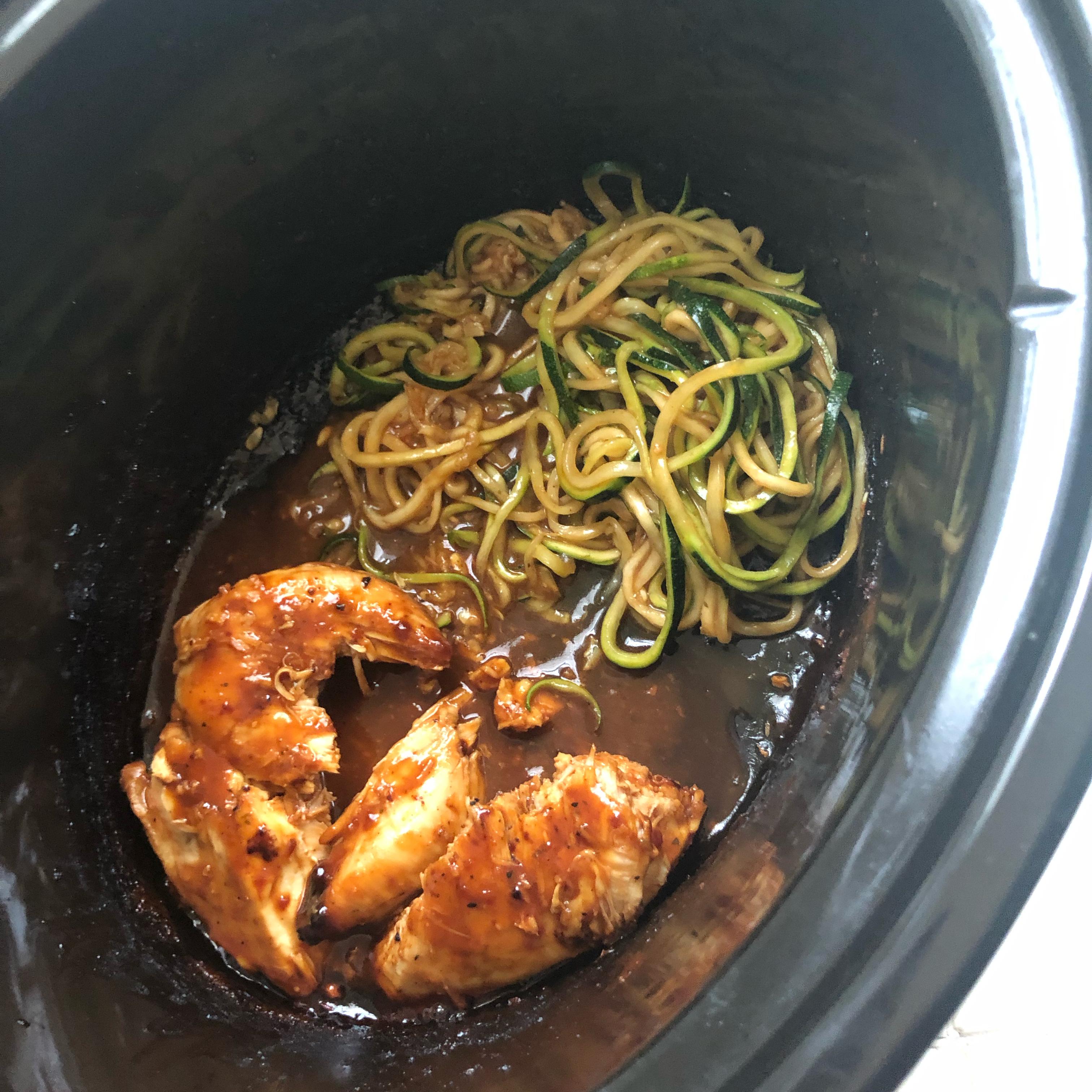 Zesty Slow Cooker Chicken Barbecue ChrisJames