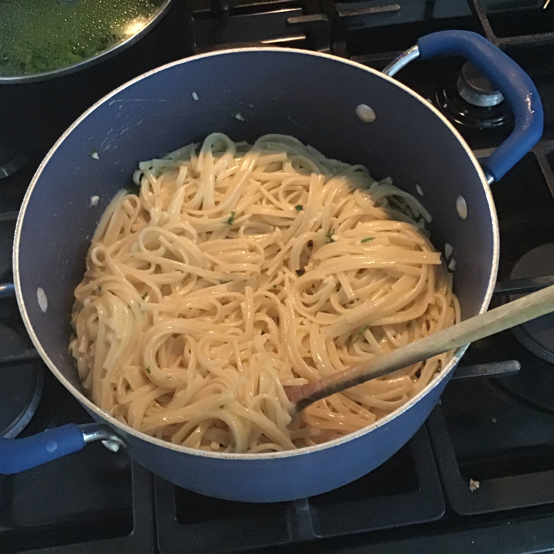 Garlic-Herb Linguine Joshua