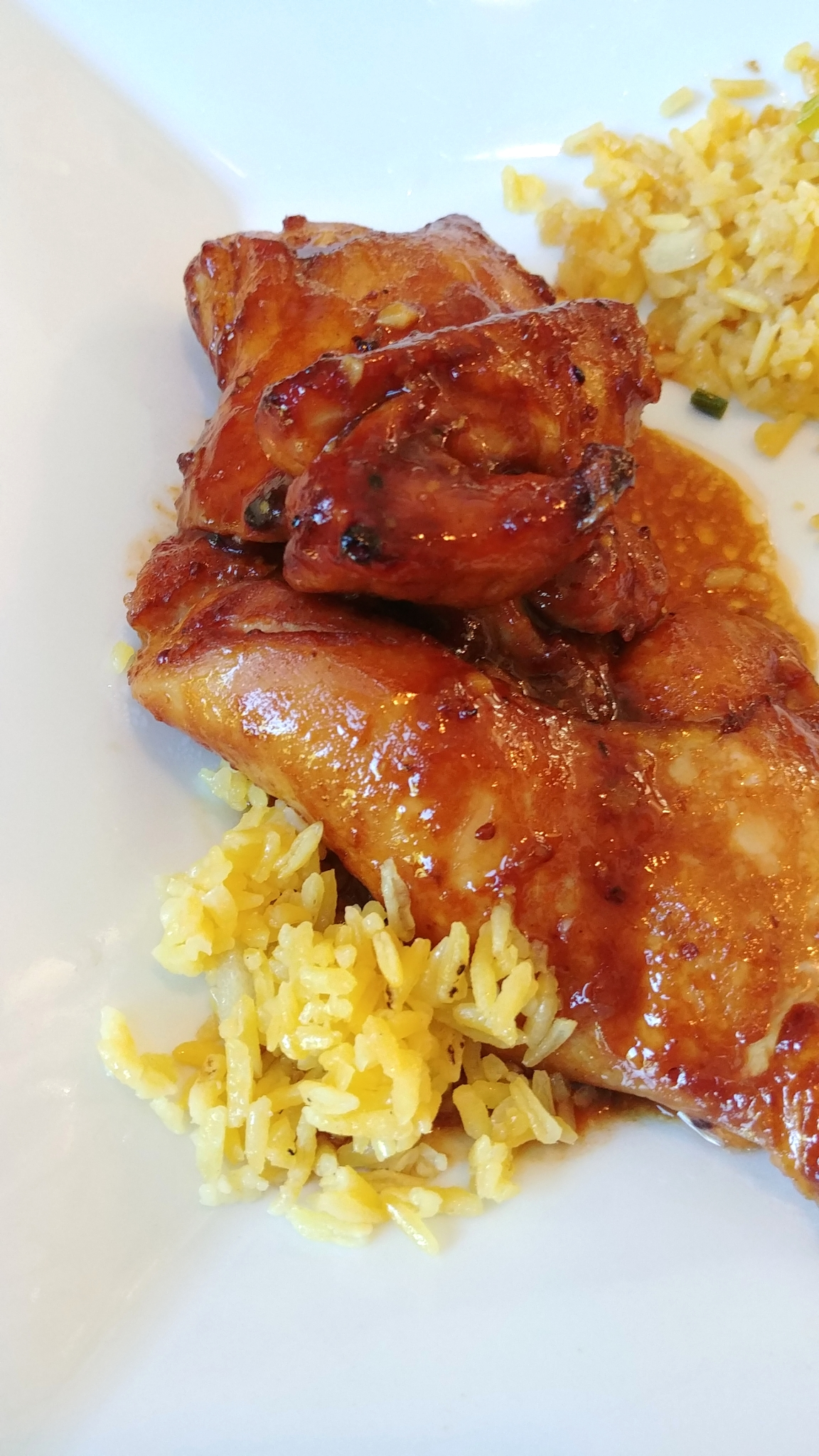 Hoisin Chicken Thighs
