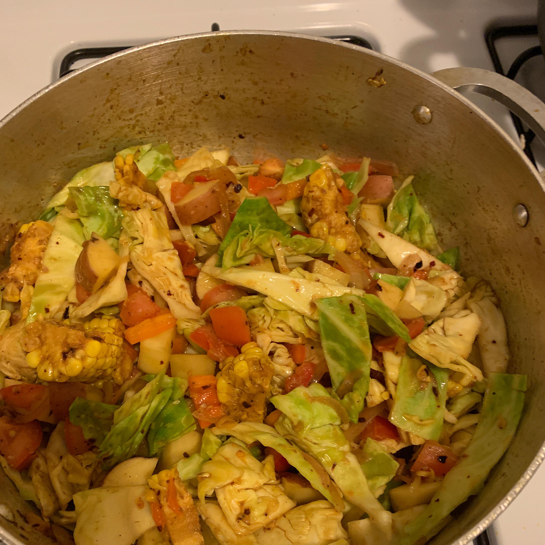 Pakistani Style Vegetables