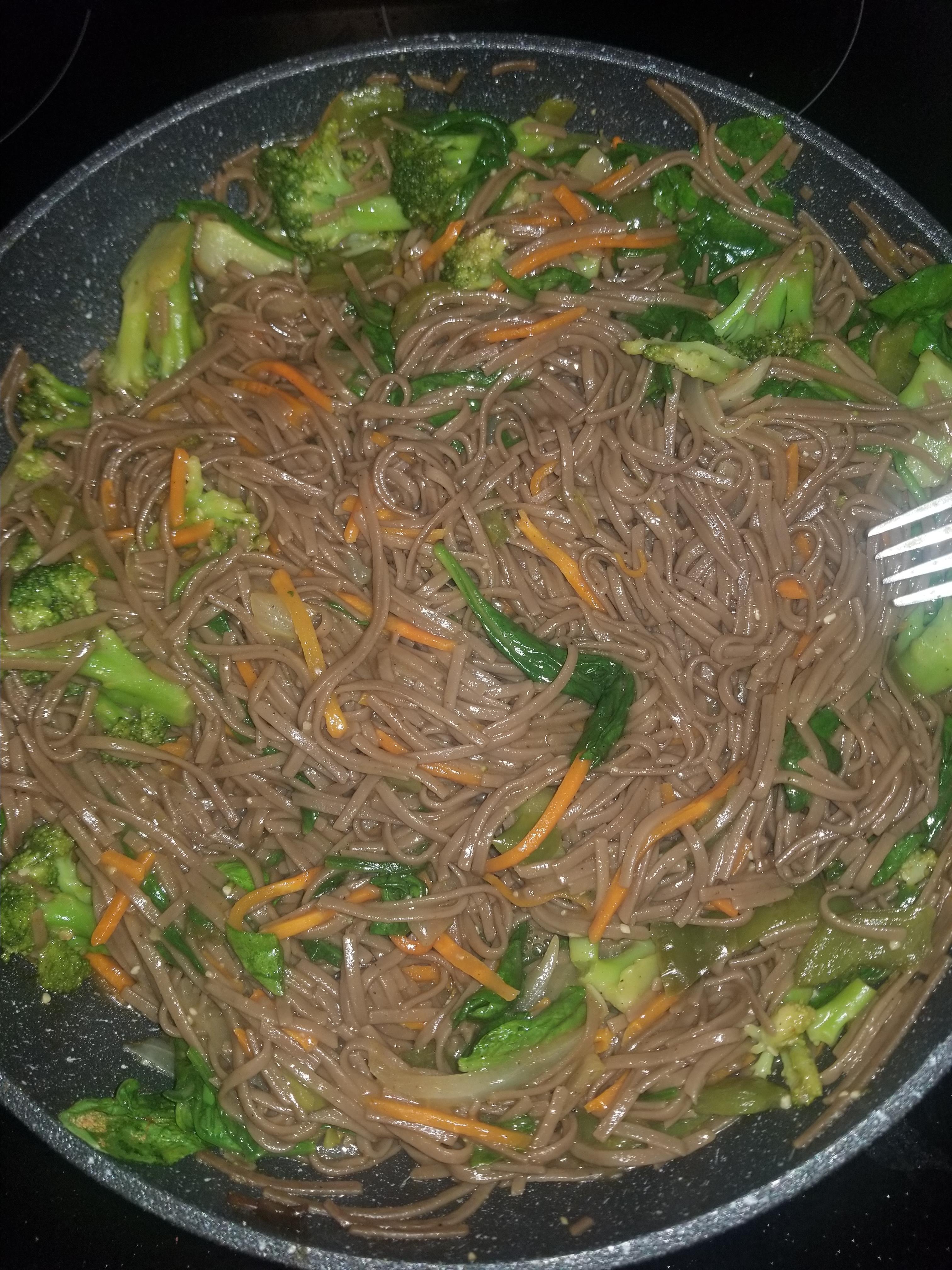 Soba Noodle Veggie Bowl juliet