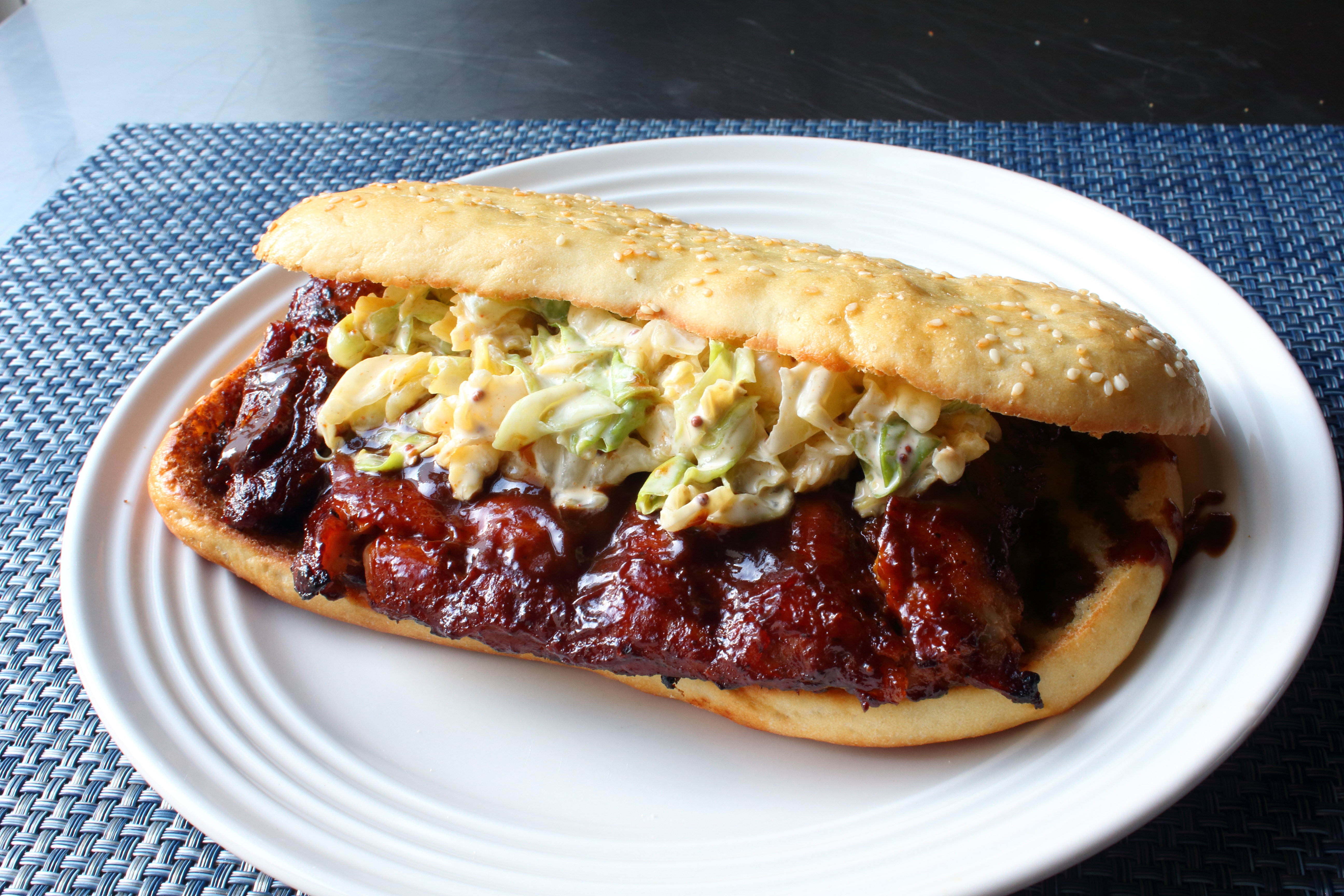 Chef John's Copycat McRib® Sandwich