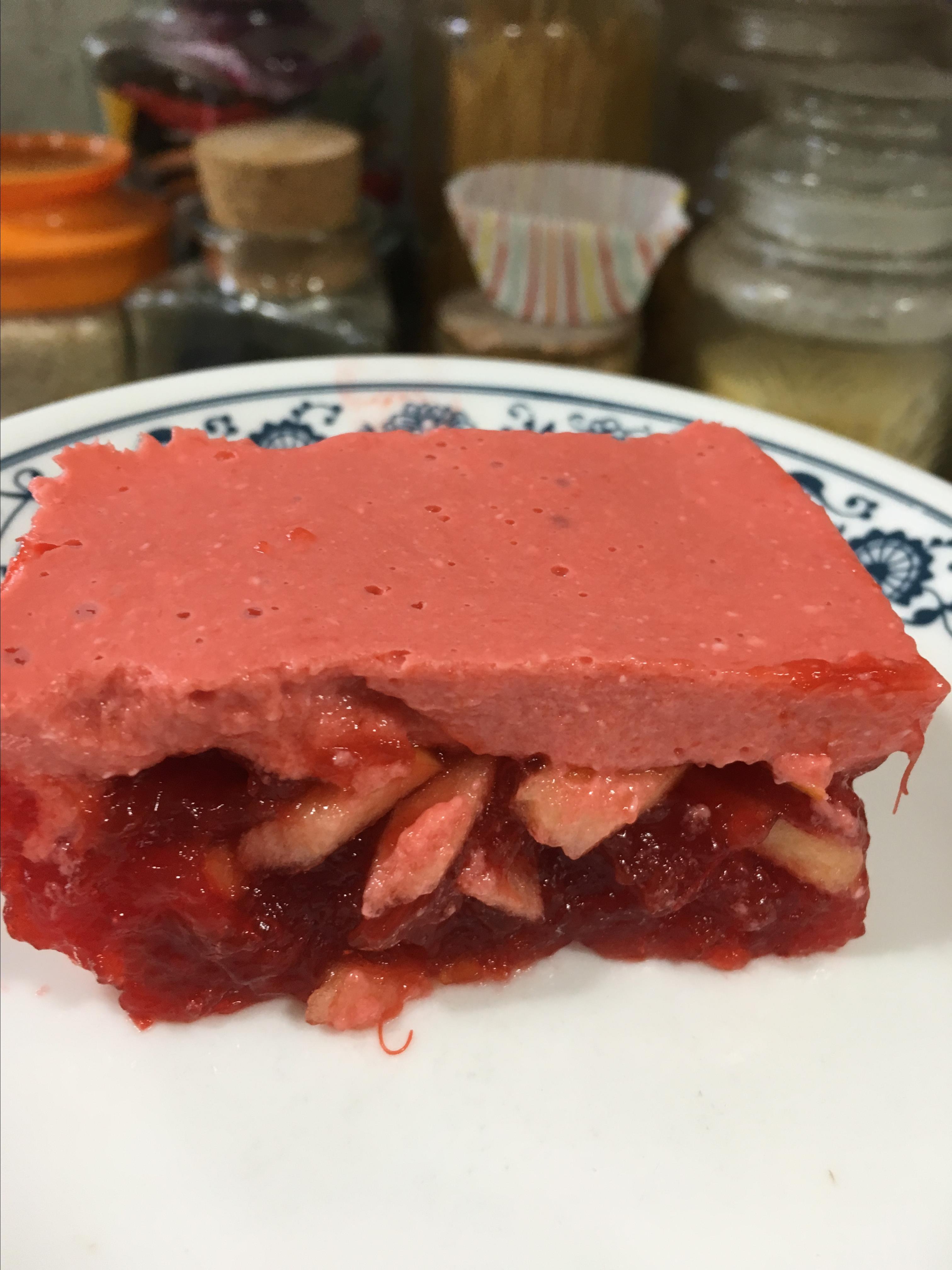 Rhubarb Gelatin Salad normal