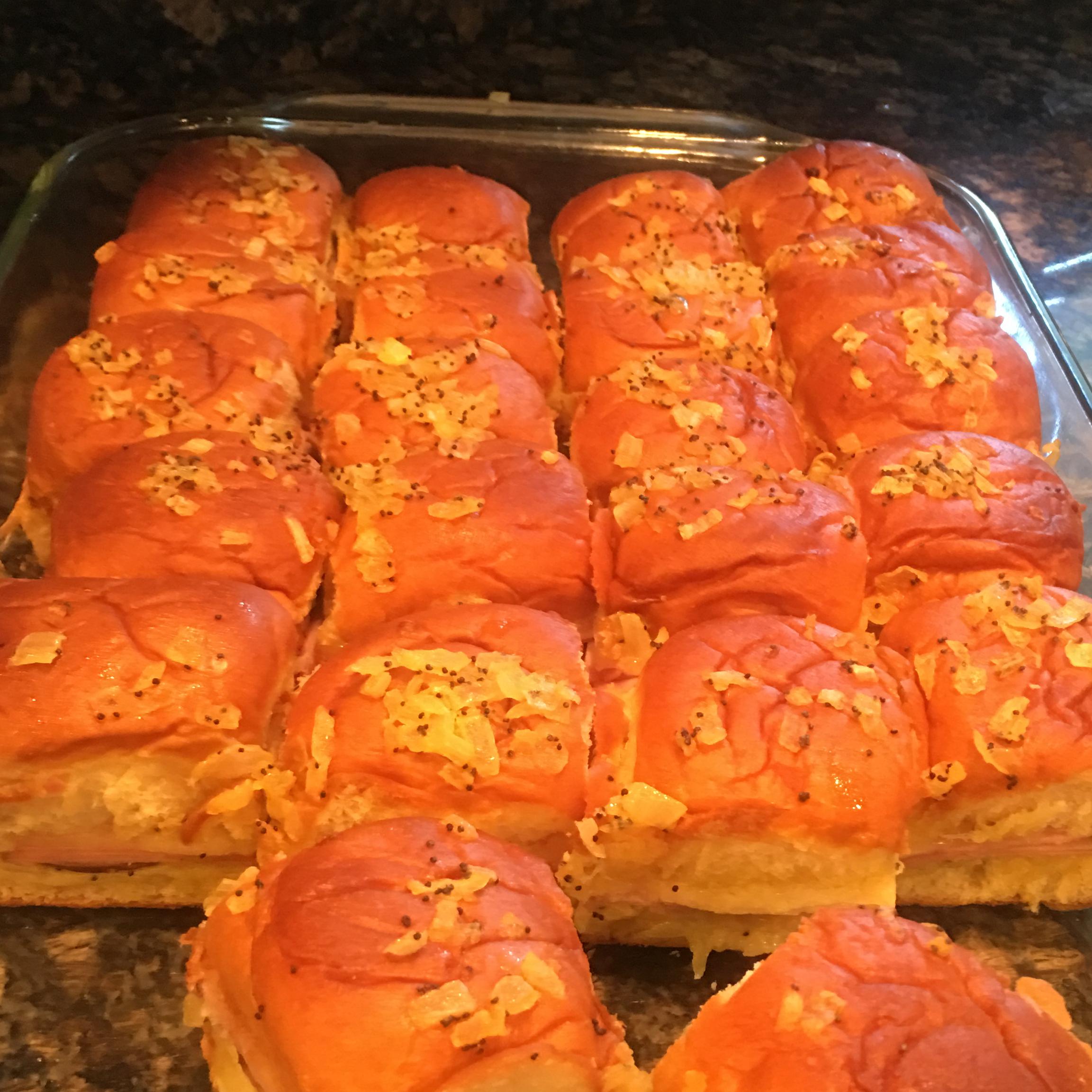 Hawaiian Ham and Cheese Sliders Mary