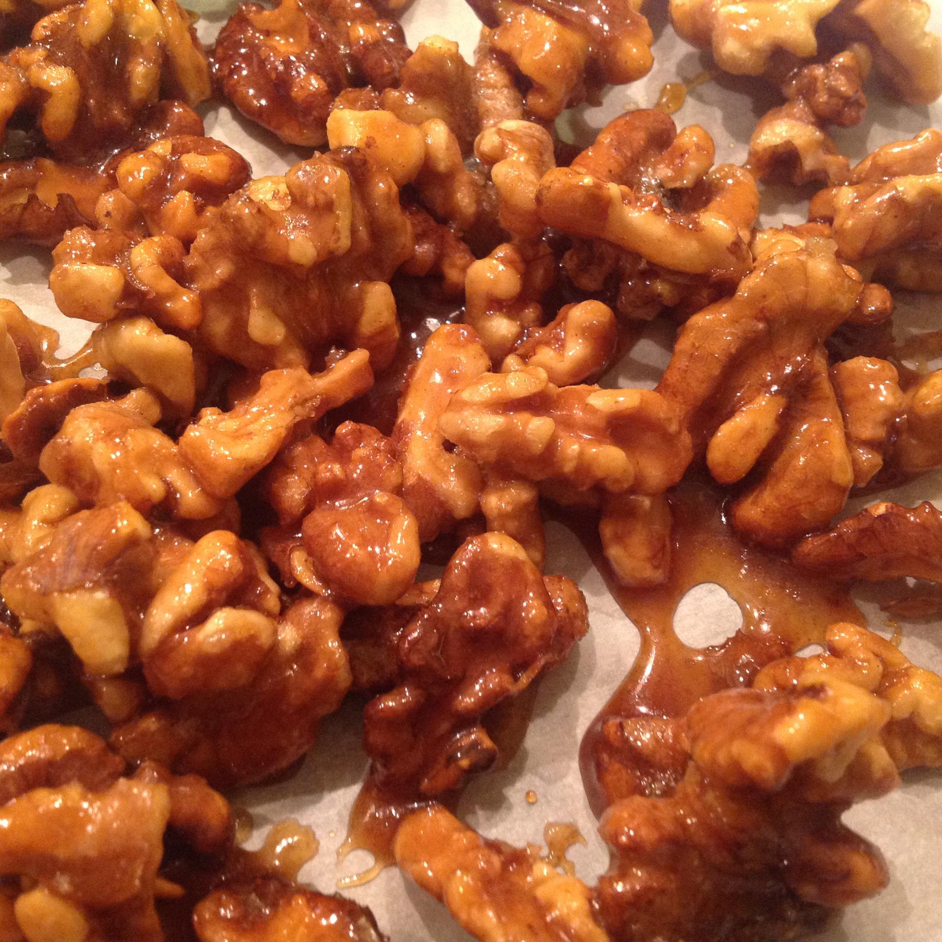 Sugar Glazed Walnuts Nenah B
