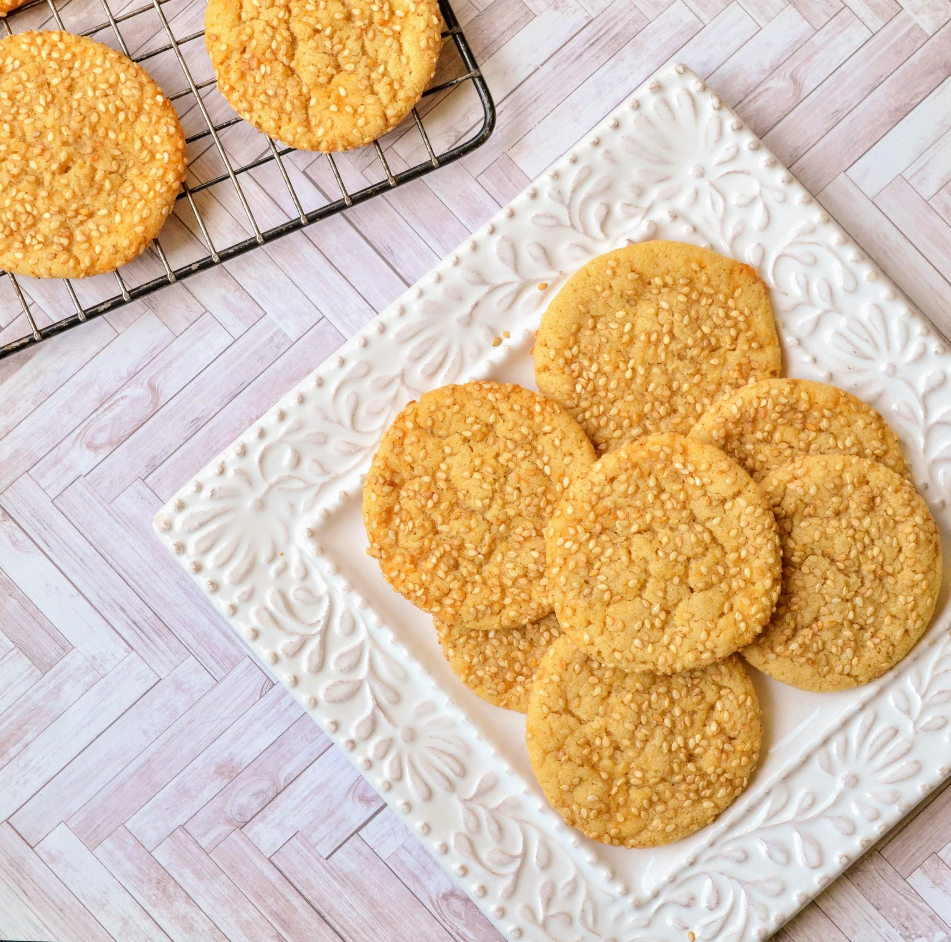 Sesame Cookies krissykaka