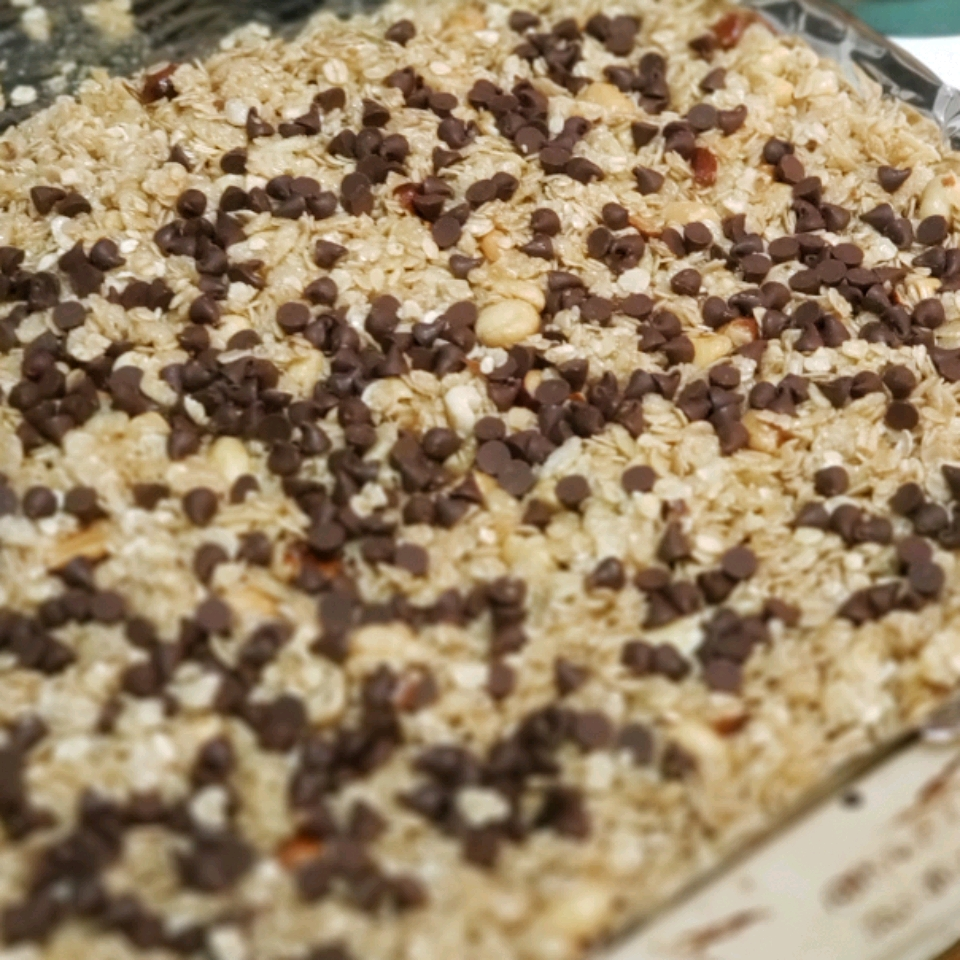 Chewy No Bake Granola Bars