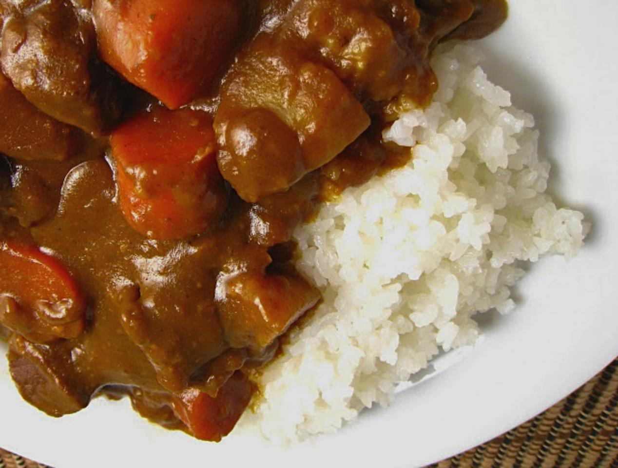Coconut Curry over Sticky Rice