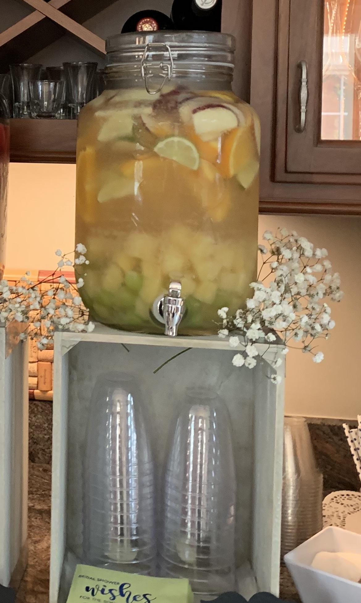 White Sangria with Lemonade Lauren Vail Boretti