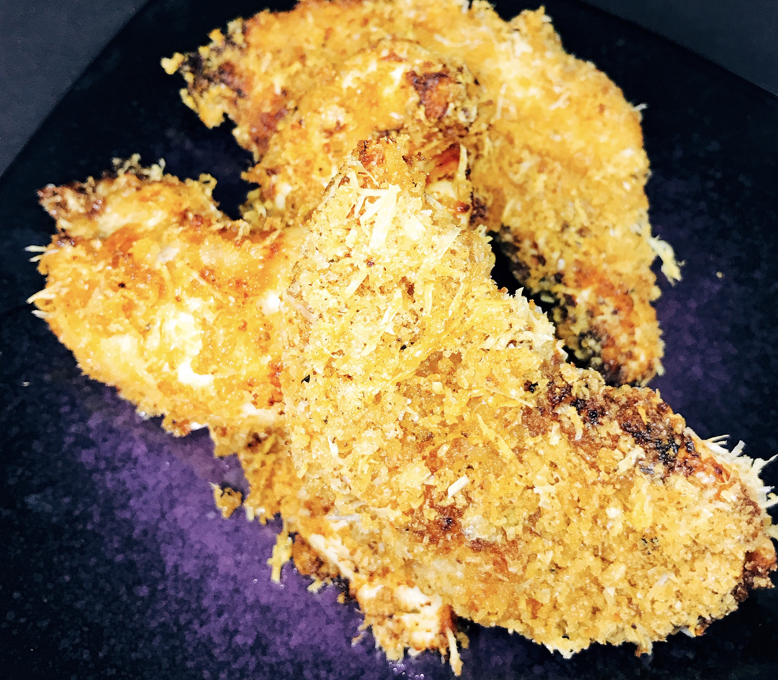 Crispy Keto Fried Chicken in the Air Fryer thedailygourmet