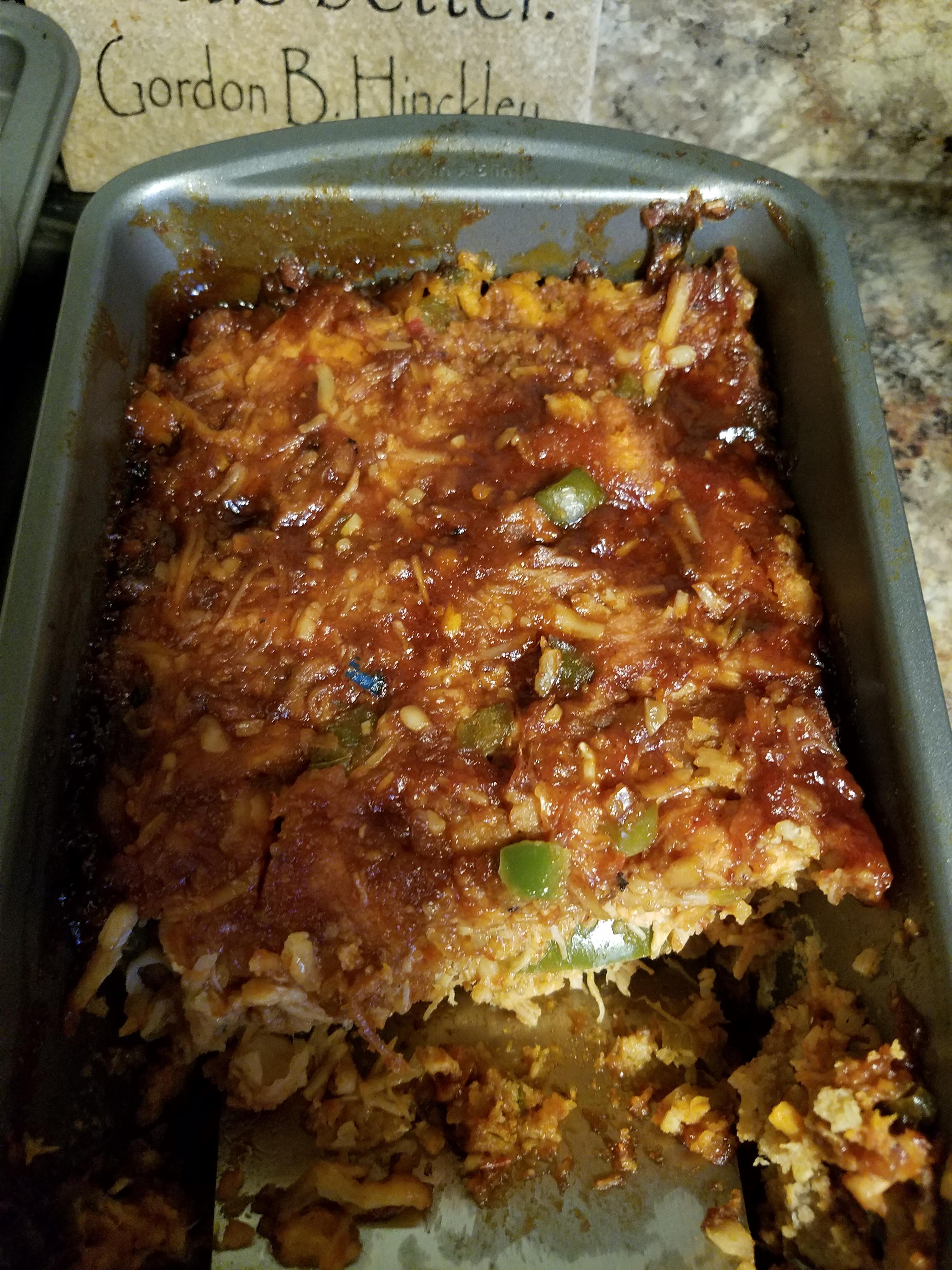 Salsa Chicken Meatloaf Jordan Hodges