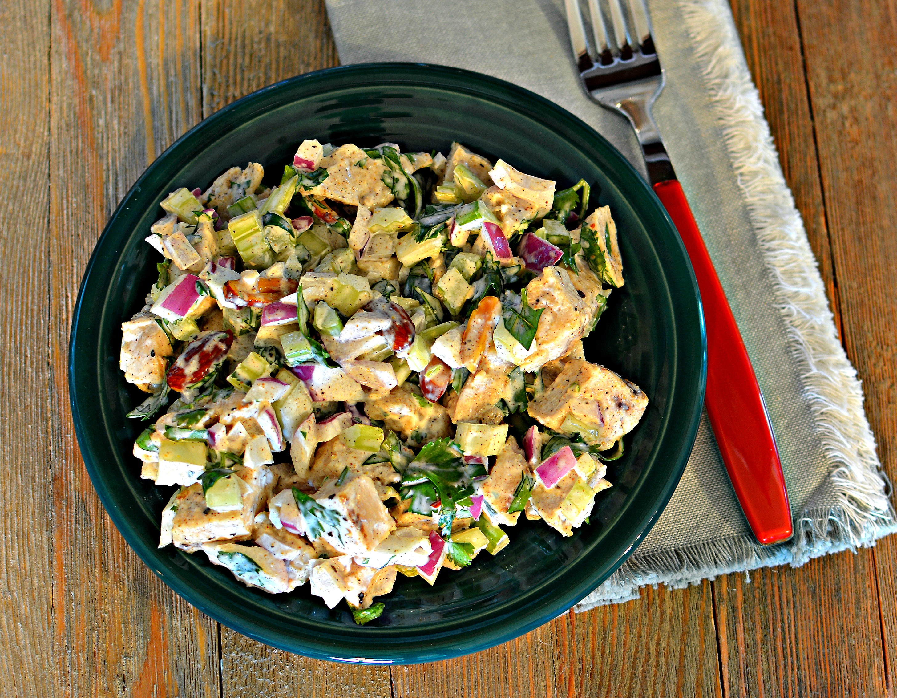Delicious Cilantro Chicken Salad matchin