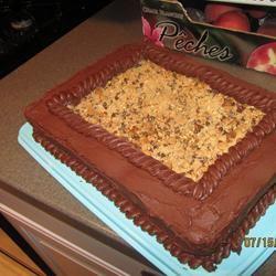Peanut Crunch Cake Kris J.