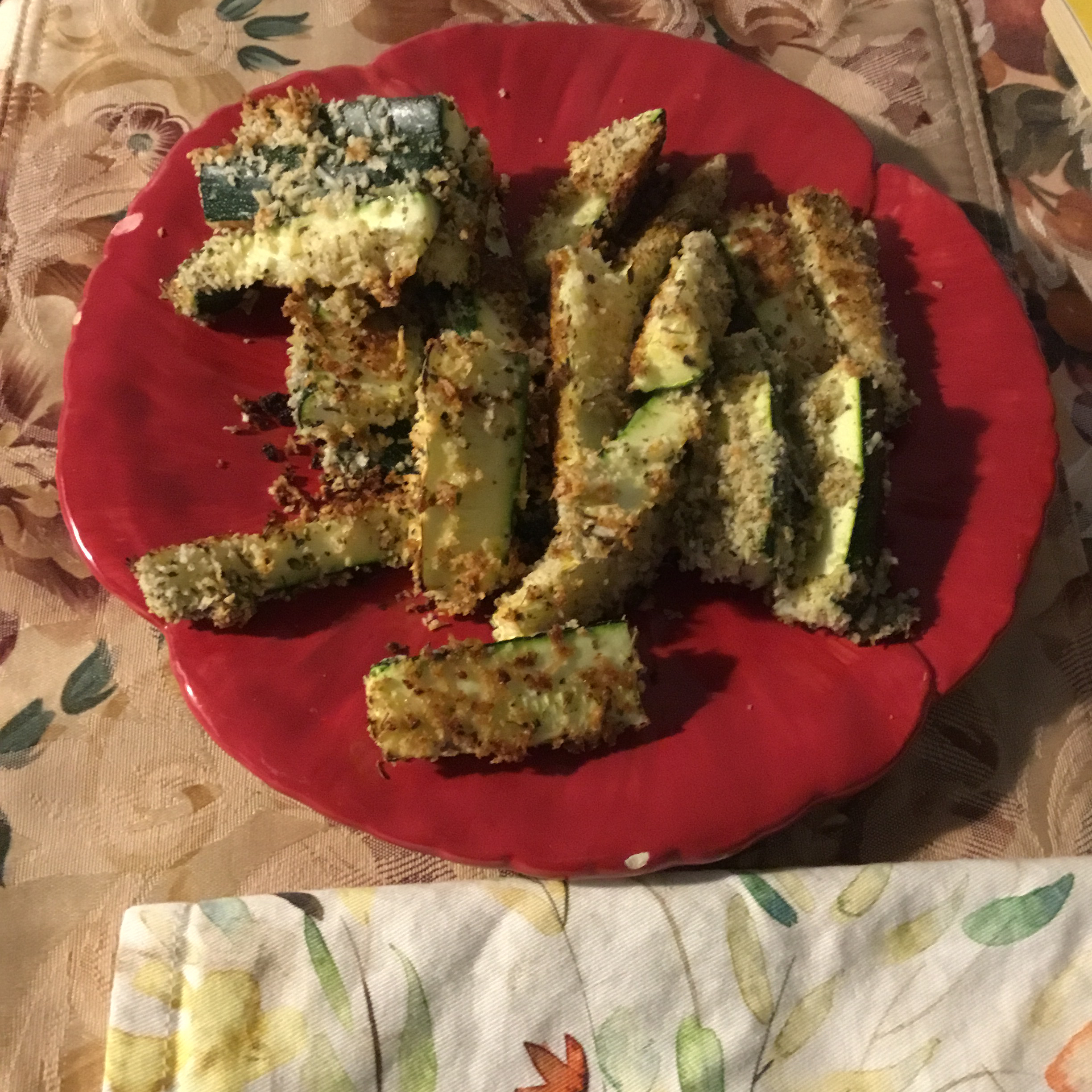 Baked Panko-Breaded Zucchini Fries Linda Marie Smith