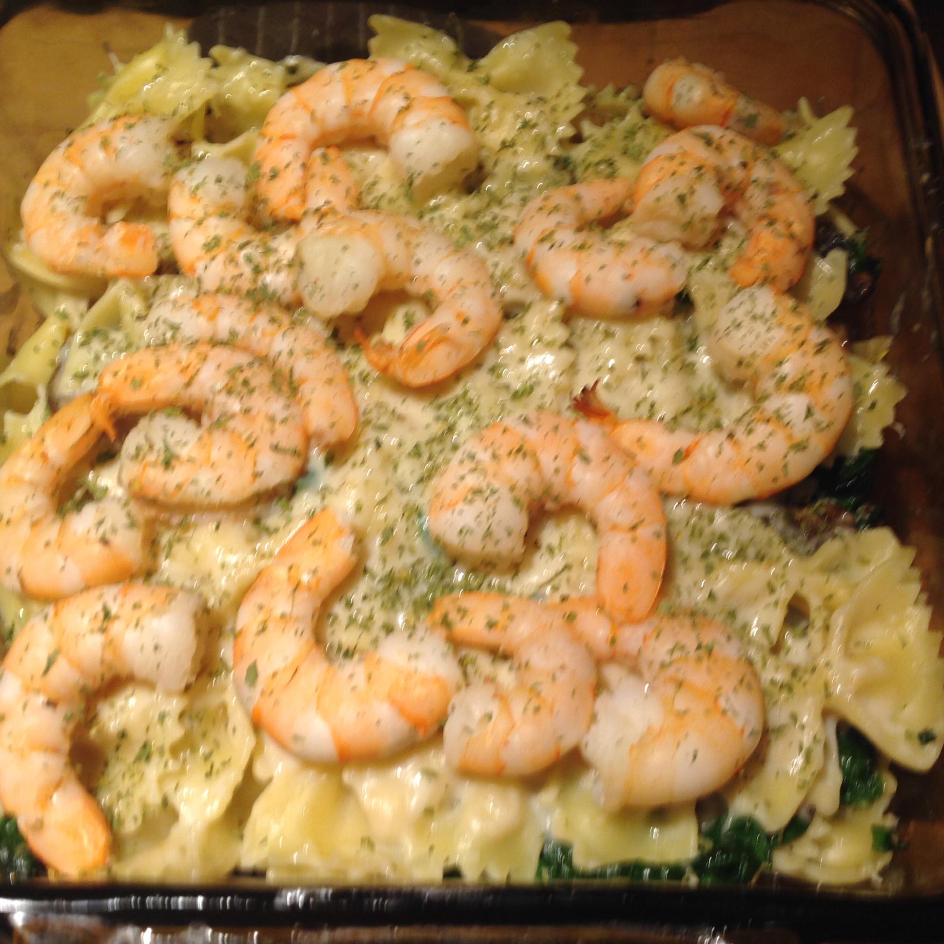 Shrimp and Spinach Lasagna Annie G.