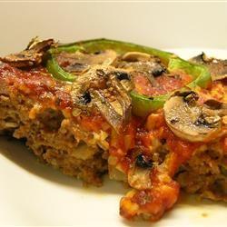 Grilled BBQ Meatloaf
