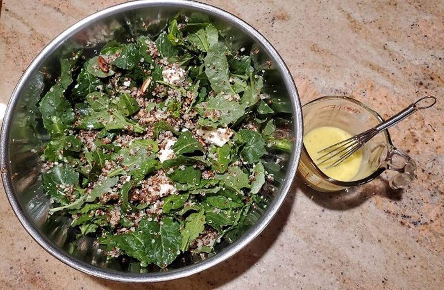 Kale and Quinoa Salad Cee