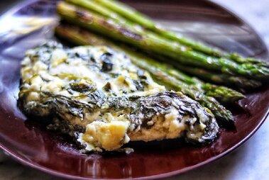 keto baked spinach artichoke chicken breasts recipe