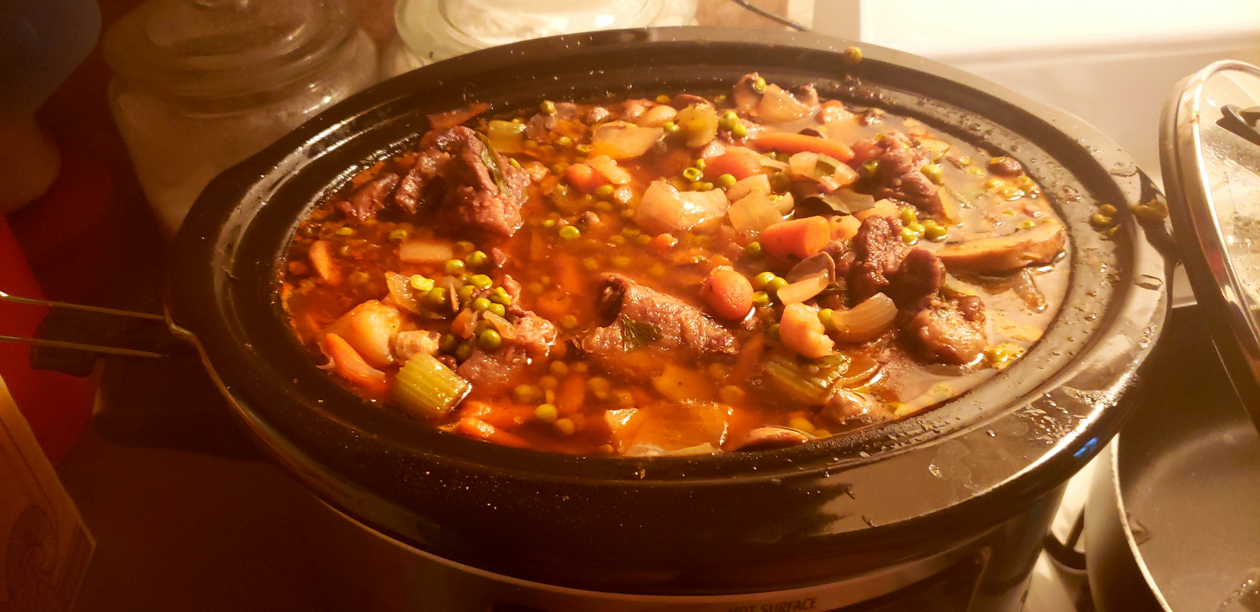 Slow Cooker Oxtail Stew Gina Pegues