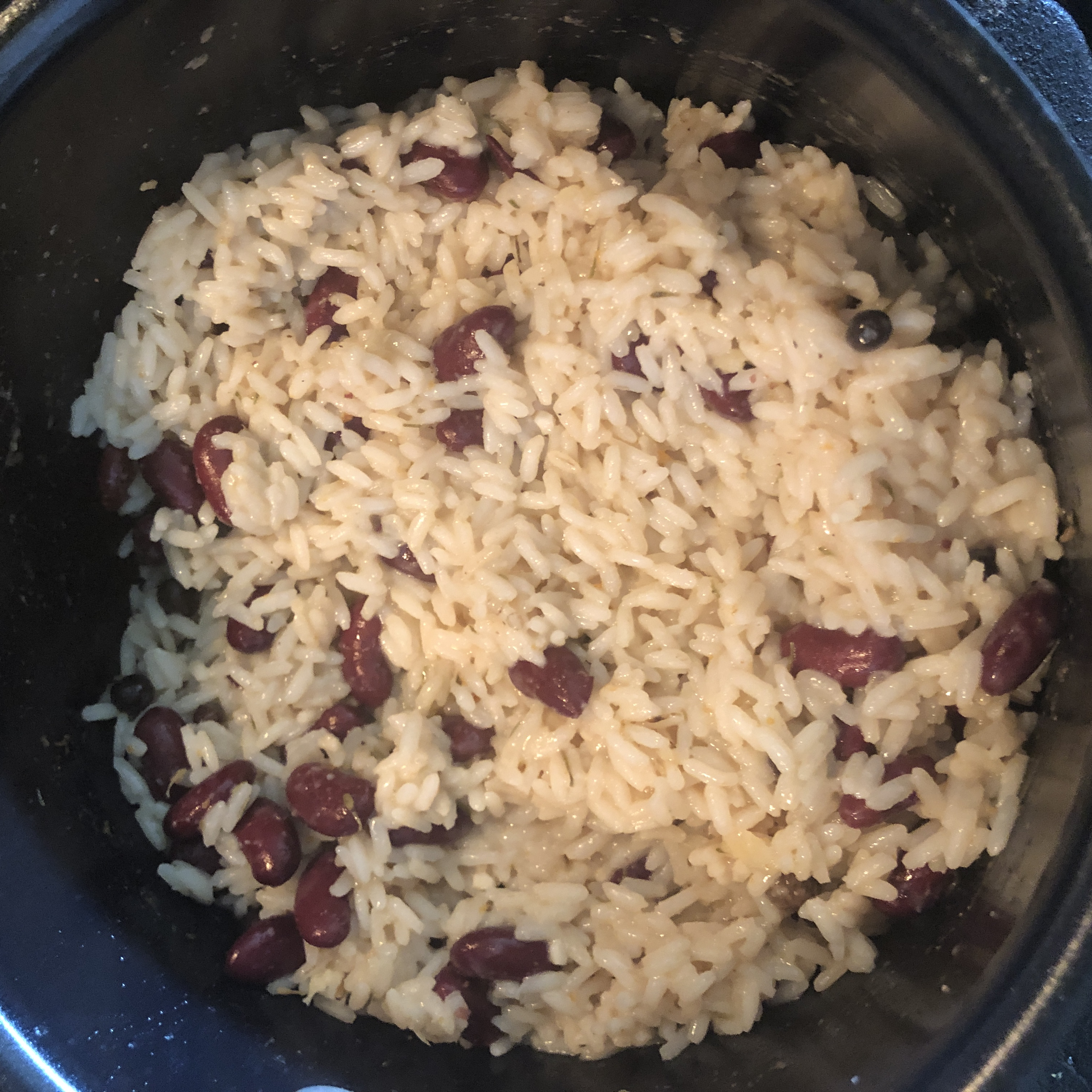 Creole Rice and Kidney Beans Maria J.