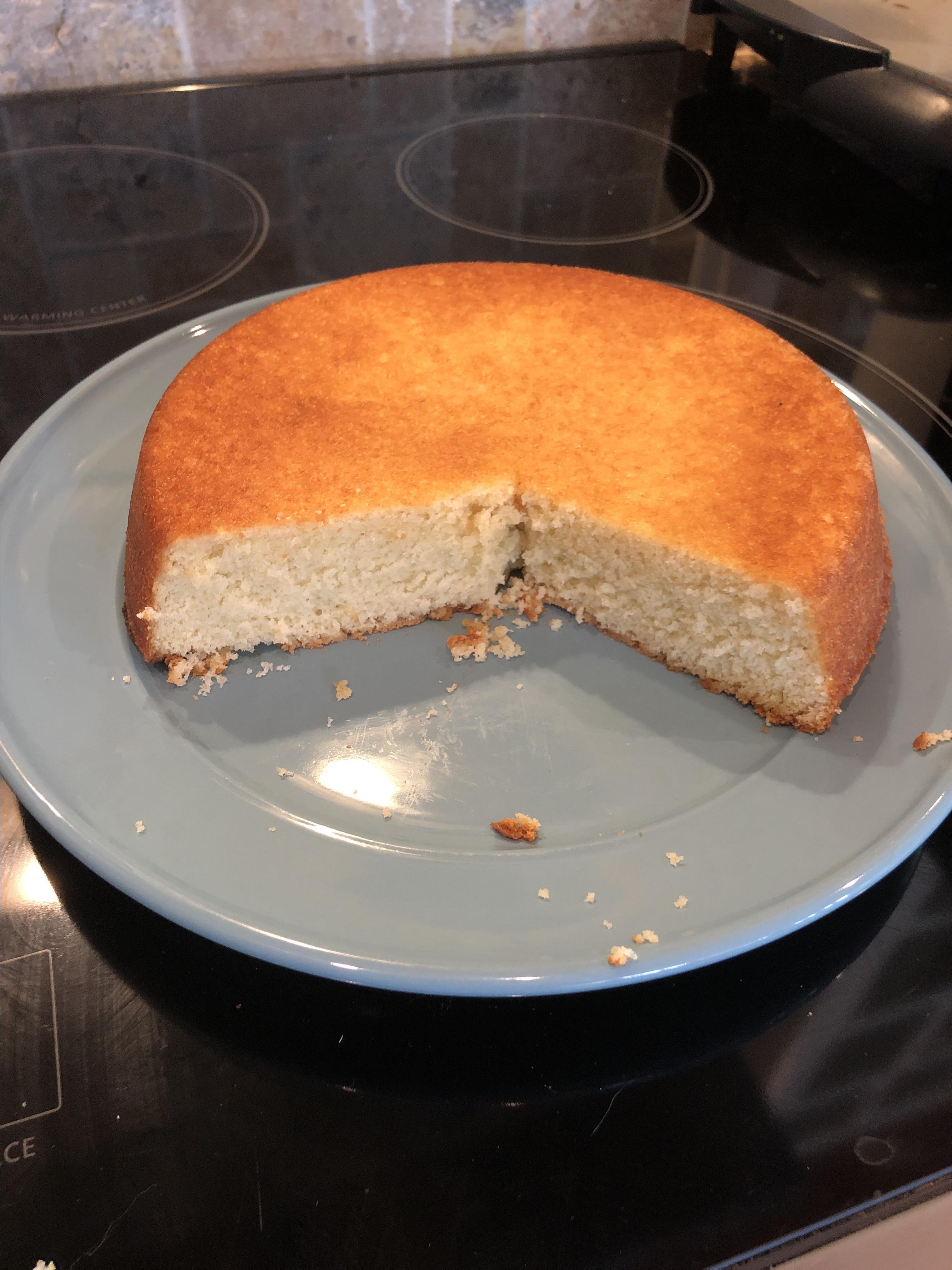 Hot Milk Sponge Cake I